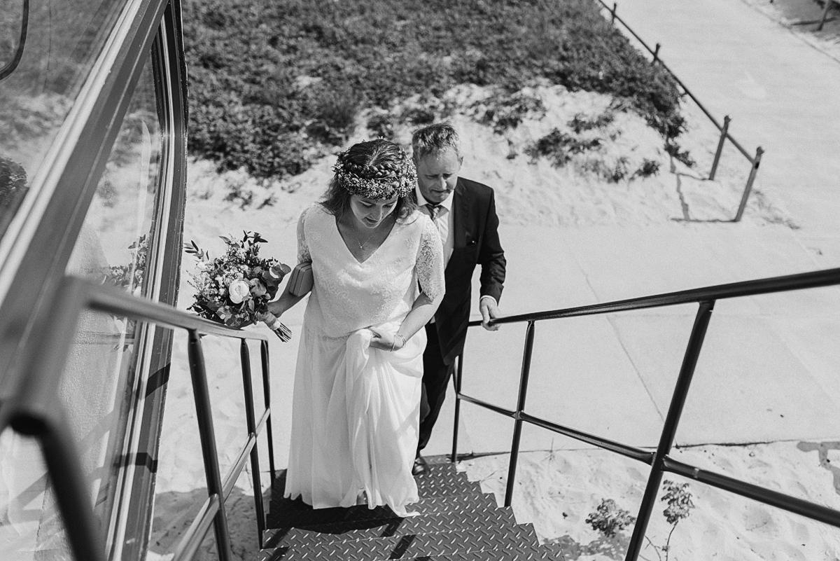 Hochzeit im Rettungsturm Binz auf Rügen - Hochzeitsfotografie auf der Insel Rügen