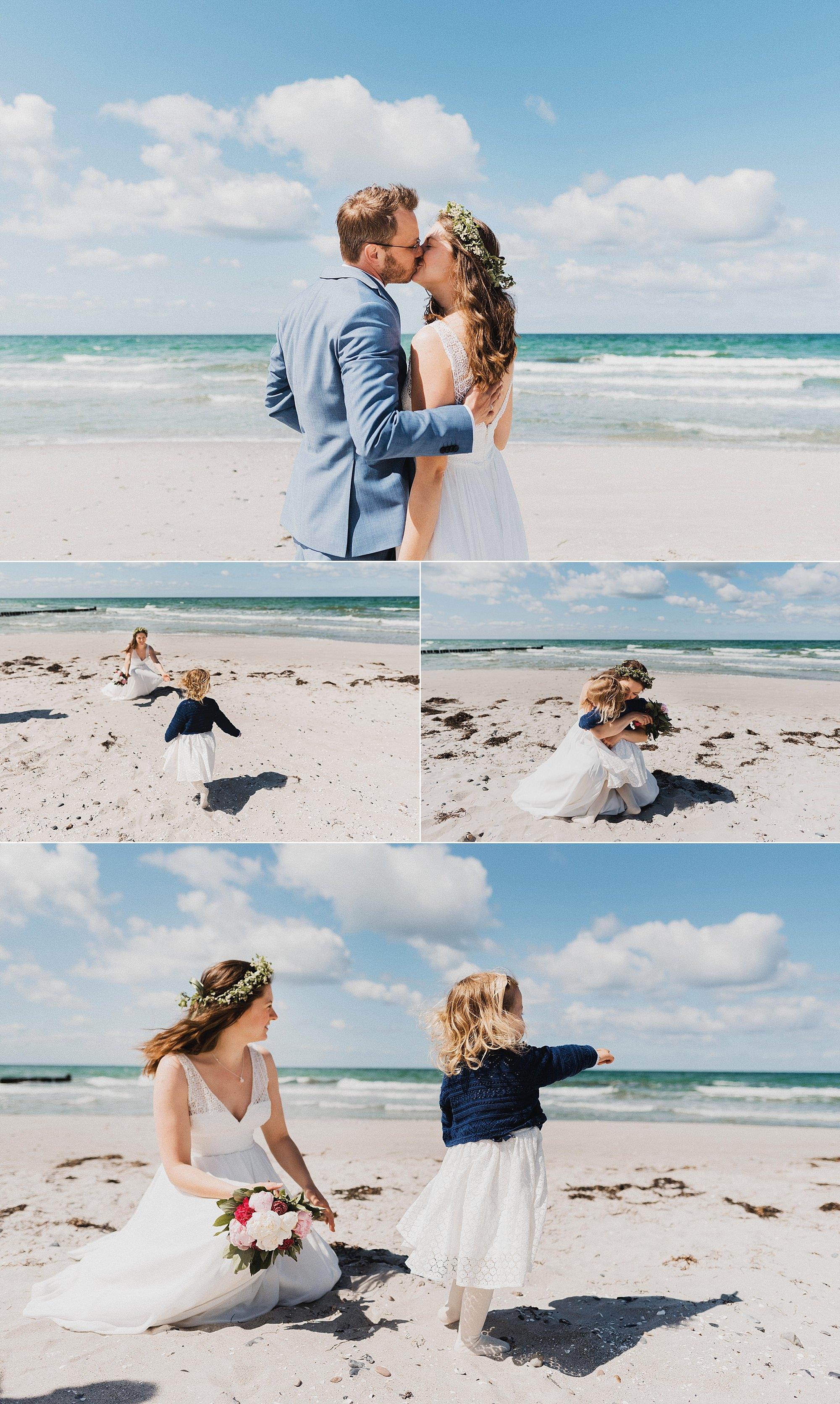 Fotograf - Hochzeit - Hiddensee - Asta Nielsen Haus - freie Trauung - Strand - Ostsee - Vitte