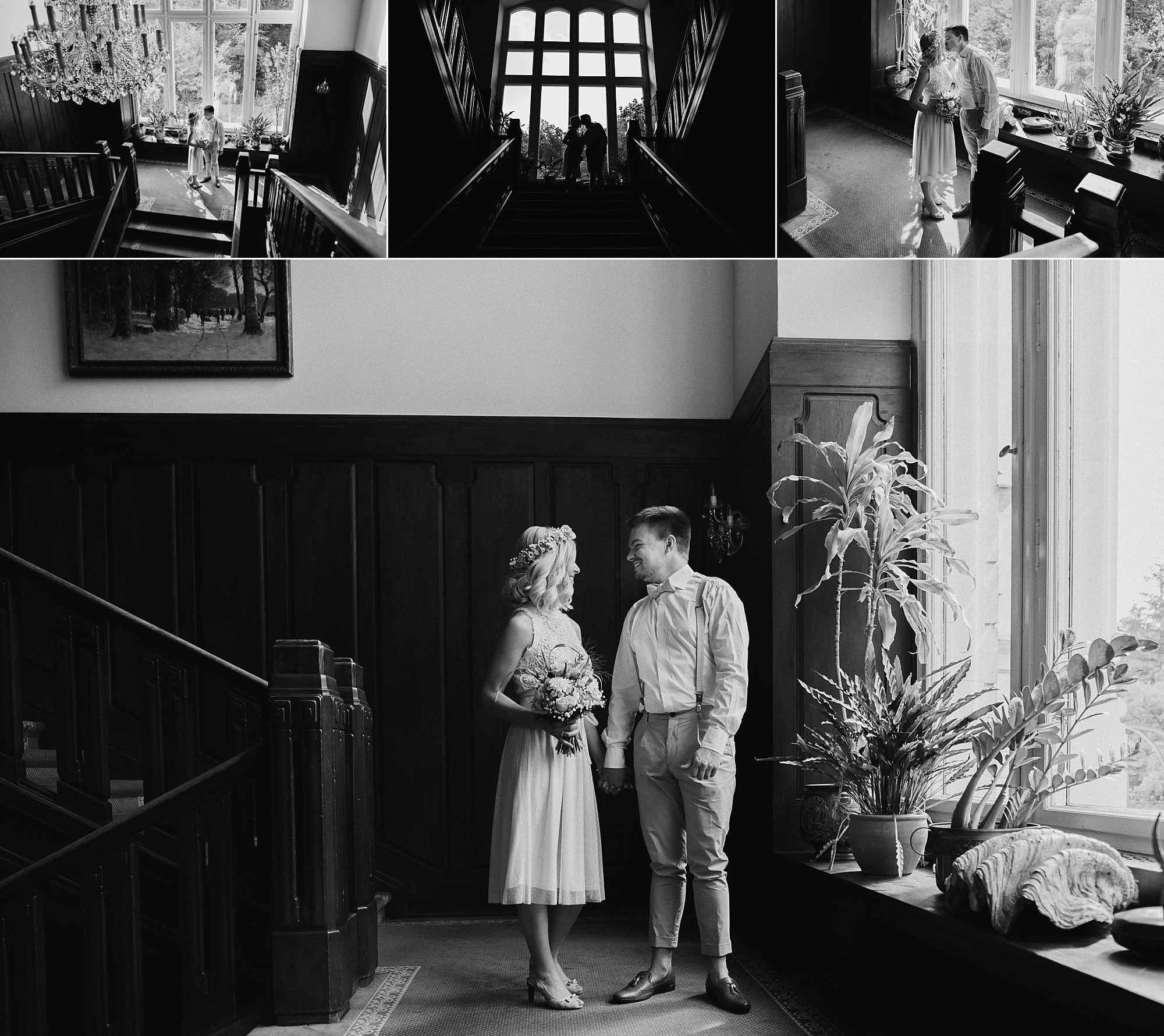 Hochzeit im Schlosshotel Ralswiek - Hochzeitsreportage auf Rügen - Heiraten im Schloss Ralswiek, Granitz oder Ranzow - Hochzeitsfotograf Ostsee