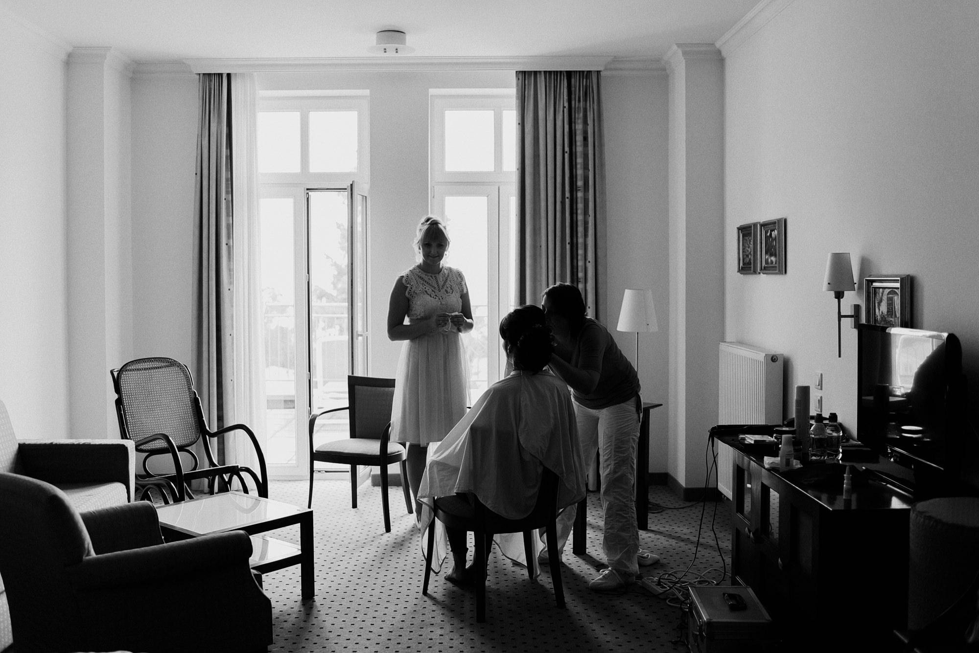 Getting Ready - Baltic Hotel - Göhren - Strandhochzeit - Hochzeitsfotograf Ostsee - Hochzeitsfotos Rügen