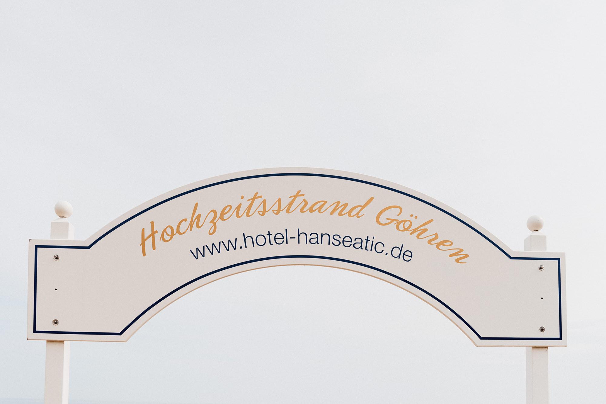 Strandhochzeit Ostsee - Hochzeitsfotograf Rügen - Heiraten am Meer