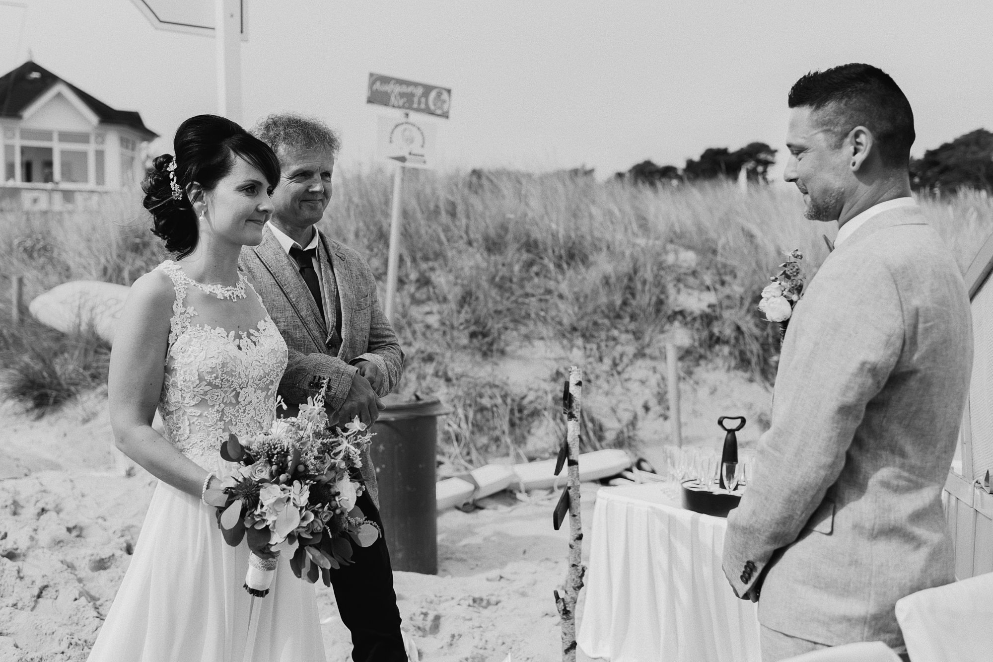Hochzeit - Göhren - Hochzeitsfotograf - Rügen - Ostsee - Heiraten - Binz - freie Trauung - Strandhochzeit