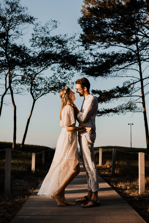 Paarfotografie Fischland Darß - Hochzeit in Dierhagen - Fotograf in Zingst und Prerow