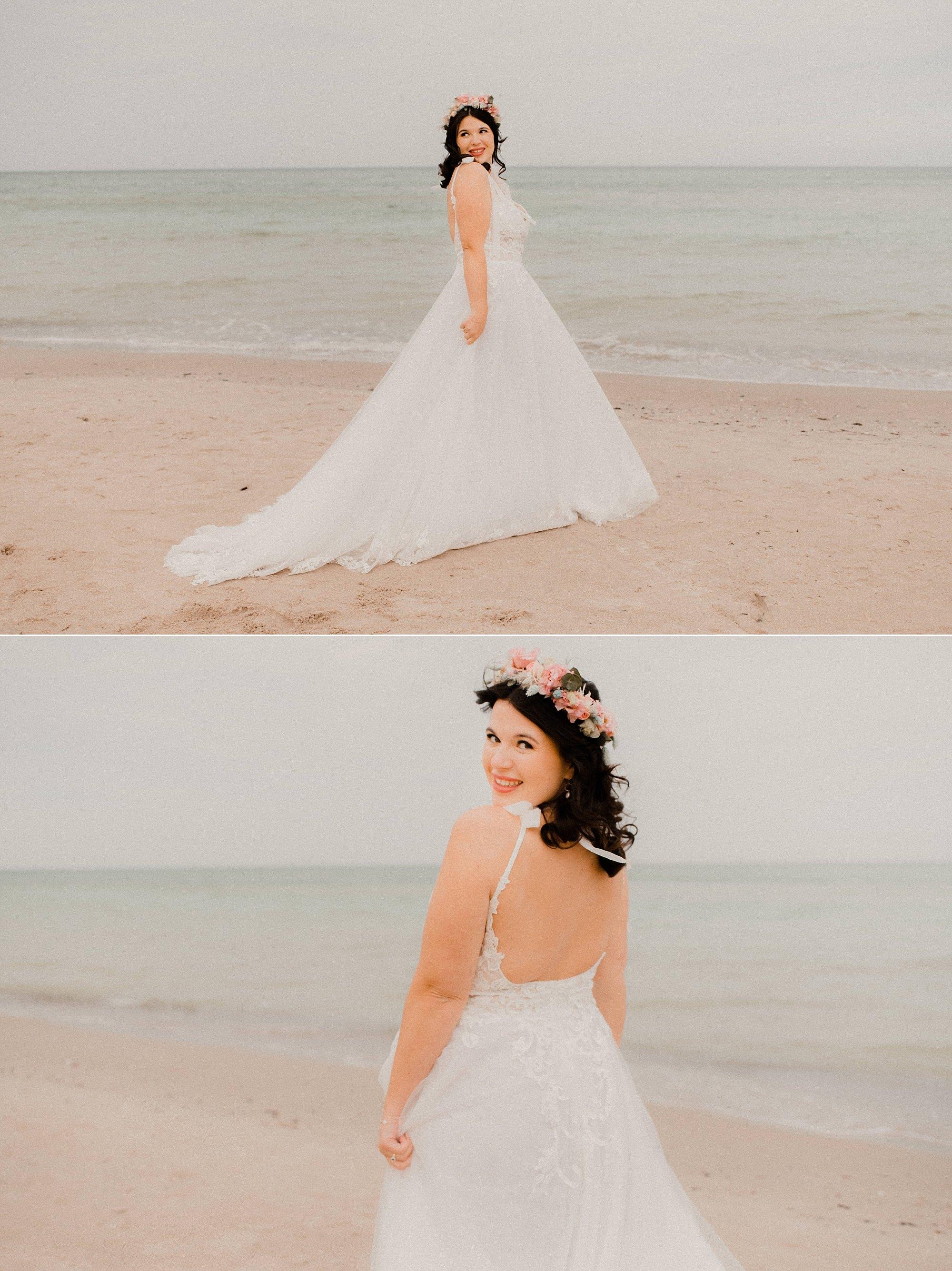 emotionale Hochzeitsfotos an der Ostsee - Hochzeitsfotograf Rügen - Sellin
