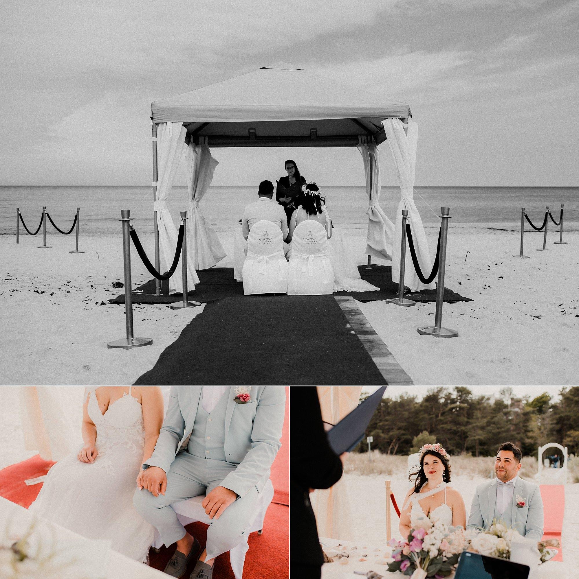 Strandhochzeit - Rügen - Heiraten - Sellin - Seebrücke - Ostsee - Hochzeitsfotografie - Fotograf - Binz