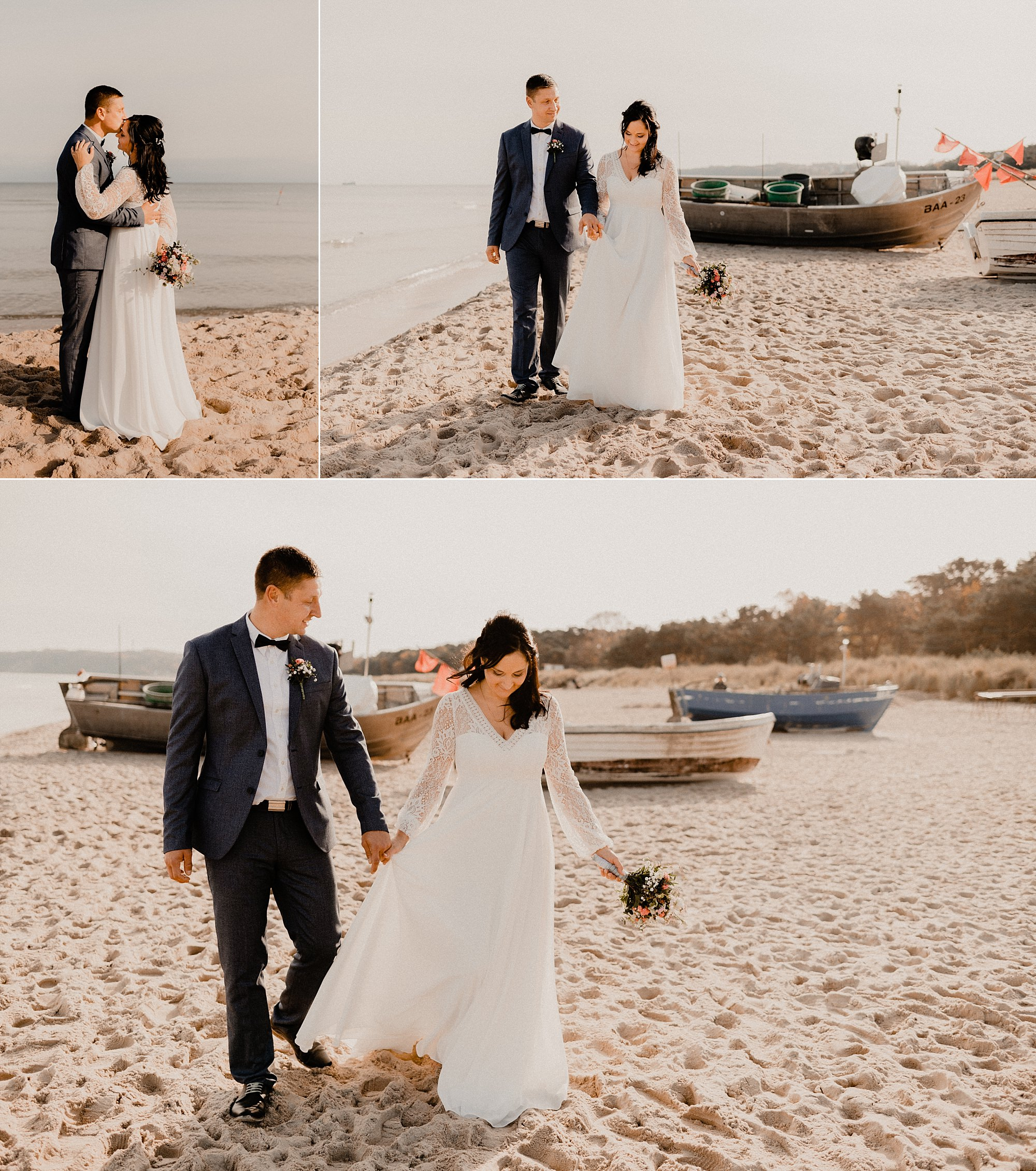 Hochzeitsfotograf Gut Groß Siemen - Hochzeitsfotografie Wasserburg Turow - Hochzeitsfotos Jagdschloss Gelbensande - Hochzeitsfotograf  Hotel Schloss Gamehl - Fotograf Hochzeit Mariandl am Meer