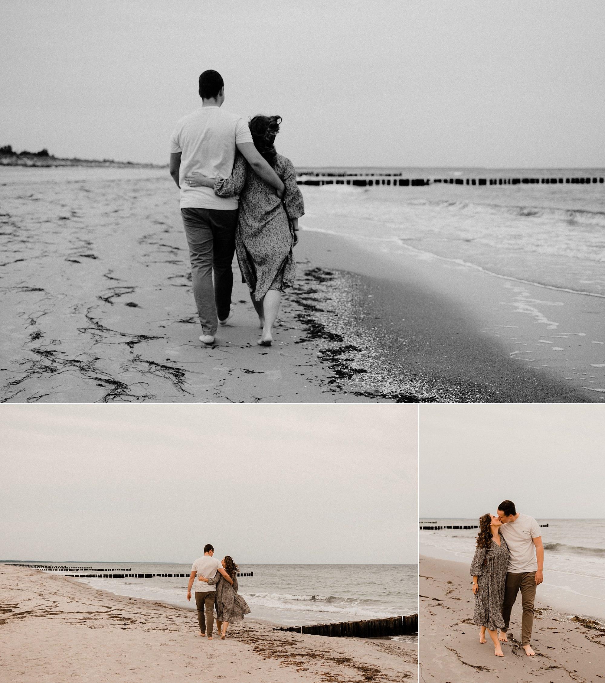 Paarshooting auf Fischland Darß - Pärchenshooting Rügen - Fotograf Usedom für Paare - Ater Wedding Shooting an der Ostsee - Hochzeitsfotograf Sellin und Binz - Fotoshooting Strand Ostsee